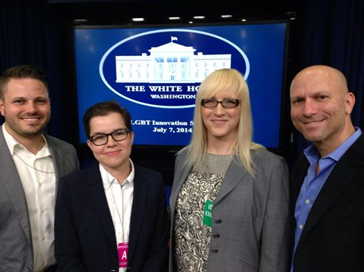 With the LGBT Technology Partnership at the White House's first LGBT Innovation Summit